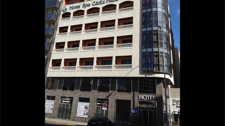 "Hotel Spa Cadiz Plaza Exterior. Images powered by <a href=""http://www.leonardo.com"" target=""_blank"" rel=""noopener"">Leonardo</a>."
