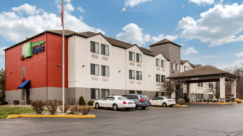 "Holiday Inn Express N Evansville Exterior. Images powered by <a href=""http://www.leonardo.com"" target=""_blank"" rel=""noopener"">Leonardo</a>."