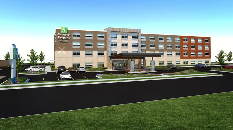 """Holiday Inn Express  and  Suites Ogallala Exterior. Images powered by <a href=""""http://www.leonardo.com"""" target=""""_blank"""" rel=""""noopener"""">Leonardo</a>."""