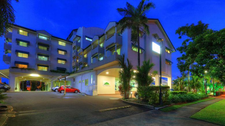 "Cairns Sheridan Hotel Exterior. Images powered by <a href=""http://www.leonardo.com"" target=""_blank"" rel=""noopener"">Leonardo</a>."