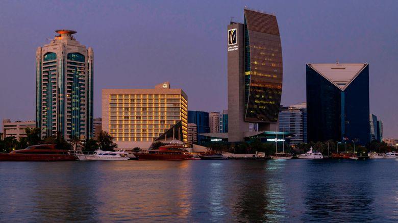 "Sheraton Dubai Creek Hotel  and  Towers Exterior. Images powered by <a href=""http://www.leonardo.com"" target=""_blank"" rel=""noopener"">Leonardo</a>."
