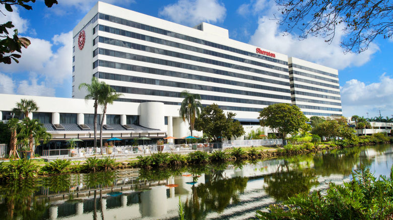 "Sheraton Miami Airport  and  Exec Mtg Center Exterior. Images powered by <a href=""http://www.leonardo.com"" target=""_blank"" rel=""noopener"">Leonardo</a>."