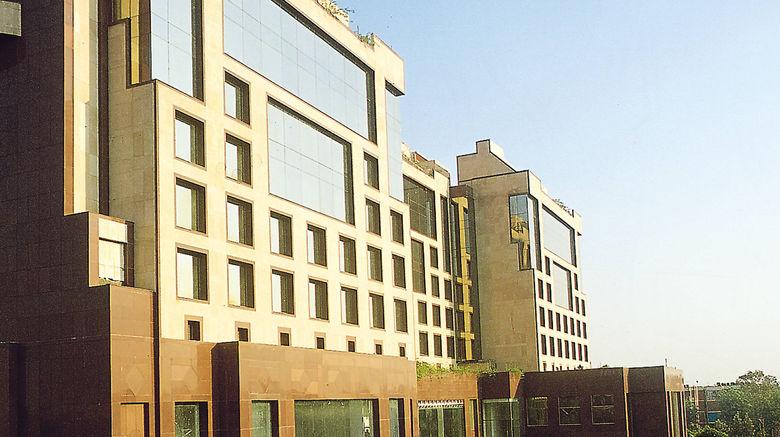 "Sheraton New Delhi Hotel Exterior. Images powered by <a href=""http://www.leonardo.com"" target=""_blank"" rel=""noopener"">Leonardo</a>."