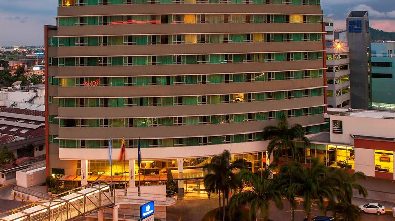 "Sheraton Guayaquil Hotel Exterior. Images powered by <a href=""http://www.leonardo.com"" target=""_blank"" rel=""noopener"">Leonardo</a>."
