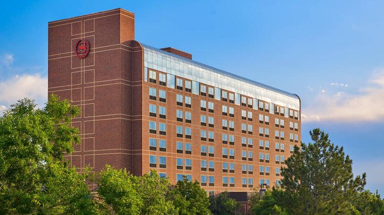 """Sheraton Denver Tech Center Hotel Exterior. Images powered by <a href=""""http://www.leonardo.com"""" target=""""_blank"""" rel=""""noopener"""">Leonardo</a>."""