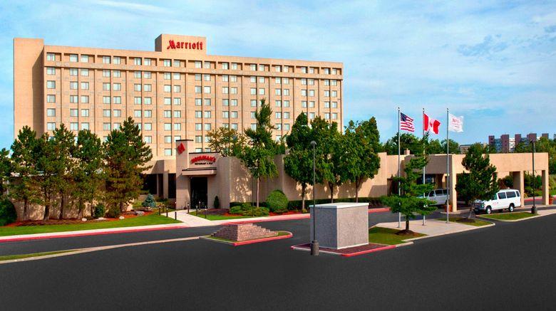 """Buffalo Marriott Niagara Exterior. Images powered by <a href=""""http://www.leonardo.com"""" target=""""_blank"""" rel=""""noopener"""">Leonardo</a>."""