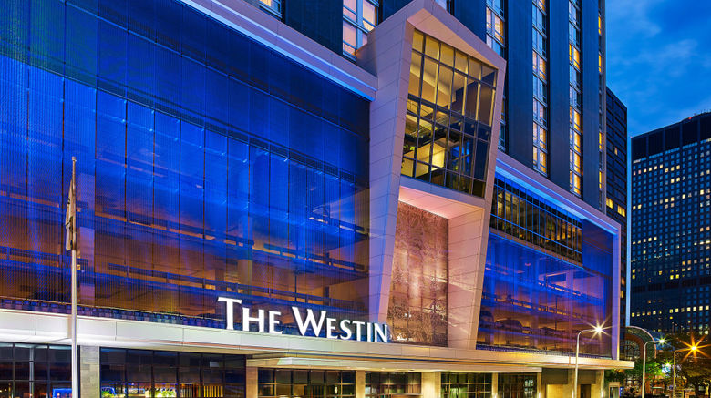 "The Westin Cleveland Downtown Exterior. Images powered by <a href=""http://www.leonardo.com"" target=""_blank"" rel=""noopener"">Leonardo</a>."