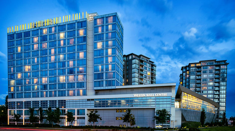 """The Westin Wall Centre-Vancouver Airport Exterior. Images powered by <a href=""""http://www.leonardo.com"""" target=""""_blank"""" rel=""""noopener"""">Leonardo</a>."""