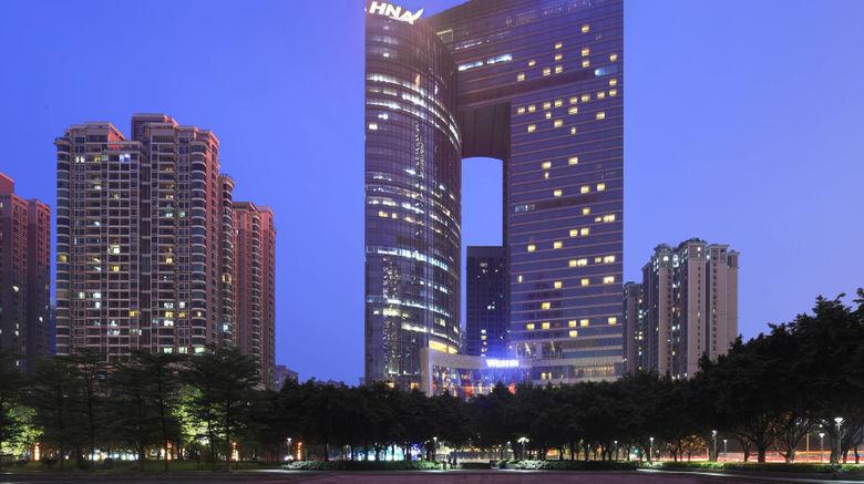 "The Westin Guangzhou Exterior. Images powered by <a href=""http://www.leonardo.com"" target=""_blank"" rel=""noopener"">Leonardo</a>."