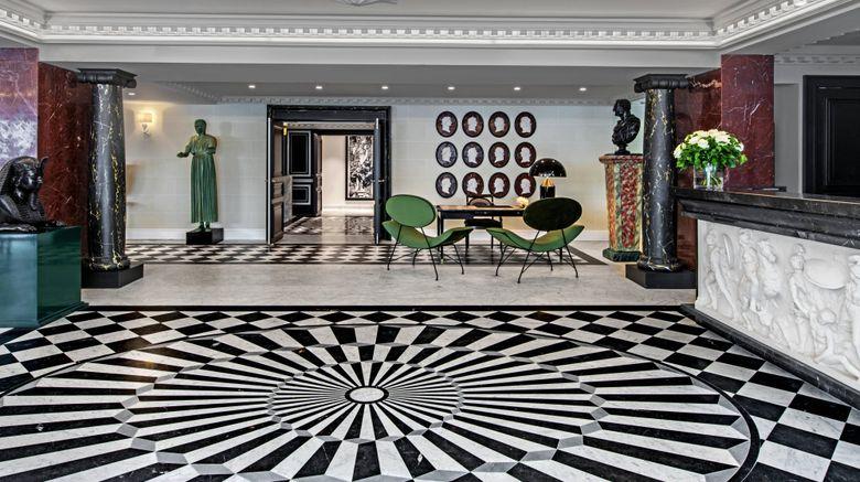 "Hotel de Berri, Luxury Collection Hotel Lobby. Images powered by <a href=""http://www.leonardo.com"" target=""_blank"" rel=""noopener"">Leonardo</a>."