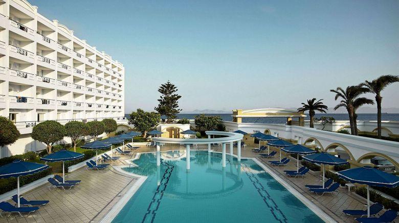 "Mitsis Grand Hotel Exterior. Images powered by <a href=""http://www.leonardo.com"" target=""_blank"" rel=""noopener"">Leonardo</a>."