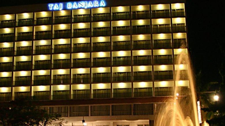 "Taj Banjara Hotel Exterior. Images powered by <a href=""http://www.leonardo.com"" target=""_blank"" rel=""noopener"">Leonardo</a>."