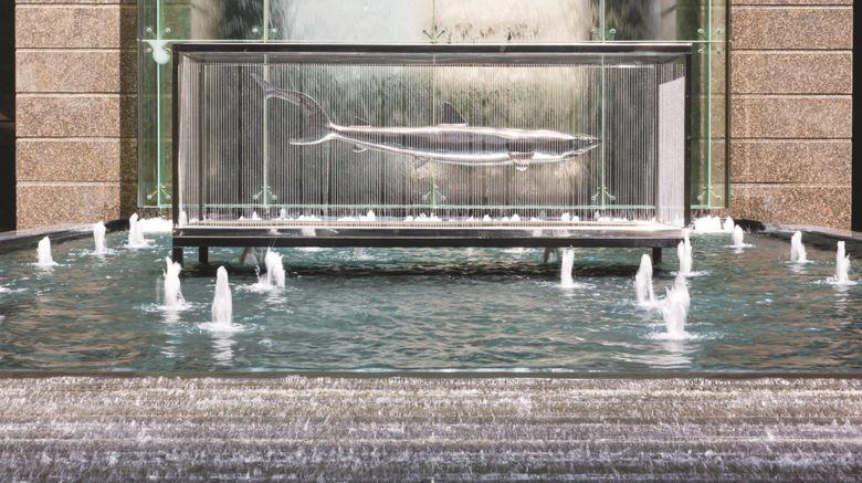 "Ritz-Carlton Dubai Intl Finance Center Exterior. Images powered by <a href=""http://www.leonardo.com"" target=""_blank"" rel=""noopener"">Leonardo</a>."