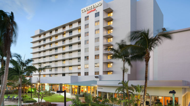"""Courtyard by Marriott Miami Airport Exterior. Images powered by <a href=""""http://www.leonardo.com"""" target=""""_blank"""" rel=""""noopener"""">Leonardo</a>."""