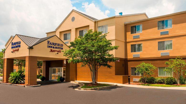"Fairfield Inn  and  Suites Mobile Exterior. Images powered by <a href=""http://www.leonardo.com"" target=""_blank"" rel=""noopener"">Leonardo</a>."