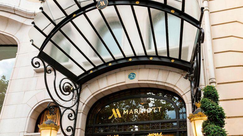 "Paris Marriott Champs Elysees Hotel Exterior. Images powered by <a href=""http://www.leonardo.com"" target=""_blank"" rel=""noopener"">Leonardo</a>."