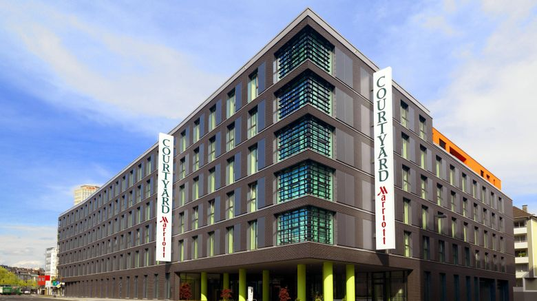 """Courtyard by Marriott Cologne Exterior. Images powered by <a href=""""http://www.leonardo.com"""" target=""""_blank"""" rel=""""noopener"""">Leonardo</a>."""