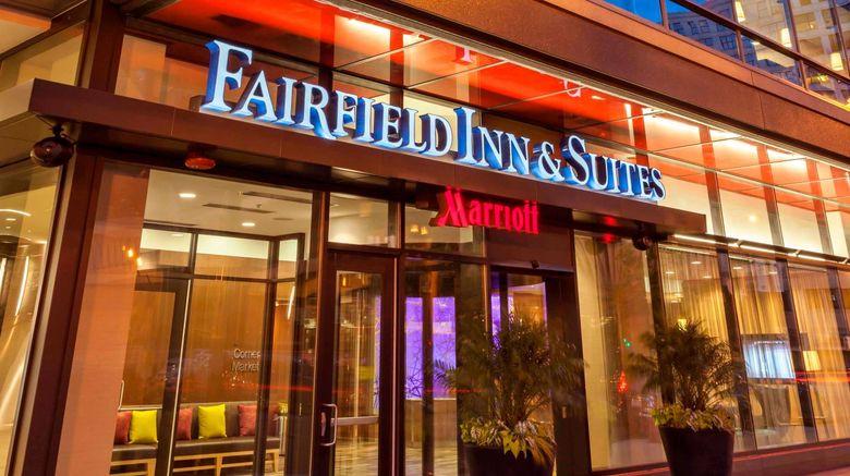 "Fairfield Inn  and  Stes Dwntown/River North Exterior. Images powered by <a href=""http://www.leonardo.com"" target=""_blank"" rel=""noopener"">Leonardo</a>."