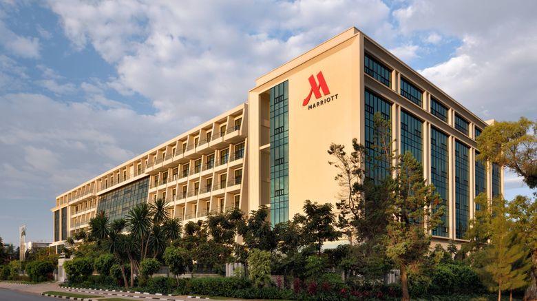 "Kigali Marriott Hotel Exterior. Images powered by <a href=""http://www.leonardo.com"" target=""_blank"" rel=""noopener"">Leonardo</a>."