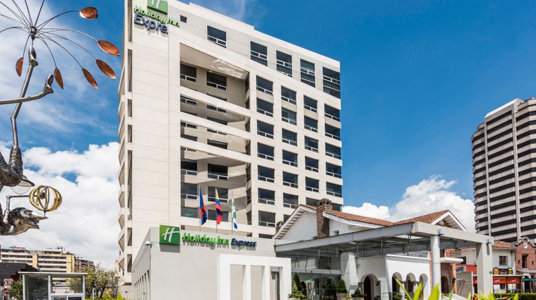 "Holiday Inn Express, Quito Exterior. Images powered by <a href=""http://www.leonardo.com"" target=""_blank"" rel=""noopener"">Leonardo</a>."