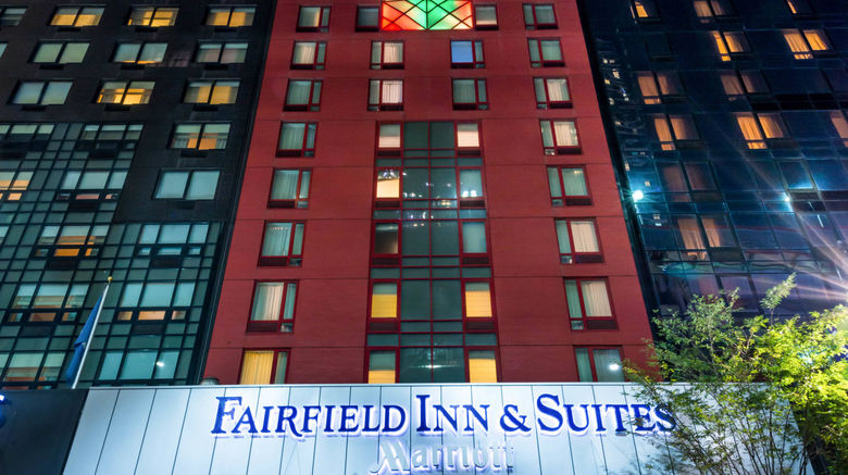 """Fairfield Inn  and  Suites By Marriott/Times Exterior. Images powered by <a href=""""http://www.leonardo.com"""" target=""""_blank"""" rel=""""noopener"""">Leonardo</a>."""