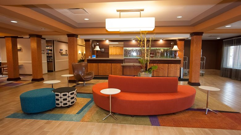 "Fairfield Inn  and  Suites Akron - South Lobby. Images powered by <a href=""http://www.leonardo.com"" target=""_blank"" rel=""noopener"">Leonardo</a>."