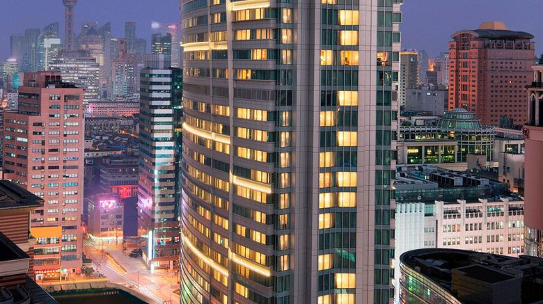 "Marriott City Centre Shanghai Exterior. Images powered by <a href=""http://www.leonardo.com"" target=""_blank"" rel=""noopener"">Leonardo</a>."