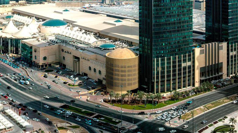 "Marriott Marquis City Center Doha Hotel Exterior. Images powered by <a href=""http://www.leonardo.com"" target=""_blank"" rel=""noopener"">Leonardo</a>."