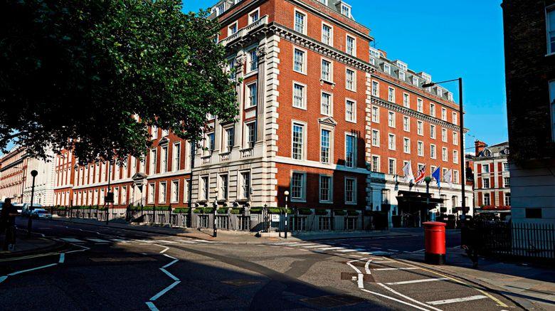 "London Marriott Hotel Grosvenor Square Exterior. Images powered by <a href=""http://www.leonardo.com"" target=""_blank"" rel=""noopener"">Leonardo</a>."