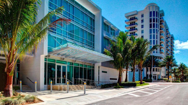 """Residence Inn Miami Beach Surfside Exterior. Images powered by <a href=""""http://www.leonardo.com"""" target=""""_blank"""" rel=""""noopener"""">Leonardo</a>."""