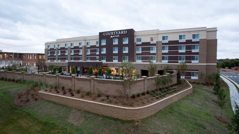 """Courtyard Starkville MSU at The Mill Exterior. Images powered by <a href=""""http://www.leonardo.com"""" target=""""_blank"""" rel=""""noopener"""">Leonardo</a>."""