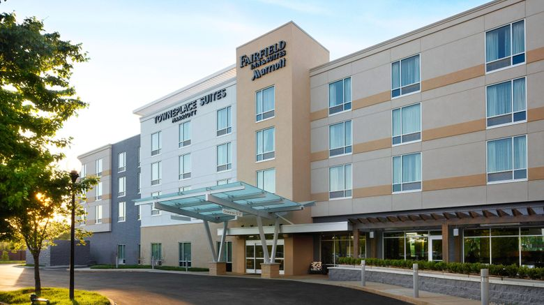 """TownePlace Suites Louisville Northeast Exterior. Images powered by <a href=""""http://www.leonardo.com"""" target=""""_blank"""" rel=""""noopener"""">Leonardo</a>."""