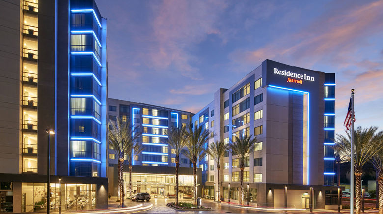 "Residence Inn at Anaheim Resort/Conv Ctr Exterior. Images powered by <a href=""http://www.leonardo.com"" target=""_blank"" rel=""noopener"">Leonardo</a>."