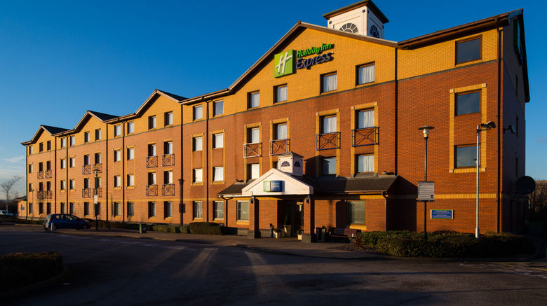 "Holiday Inn Express Stoke on Trent Exterior. Images powered by <a href=""http://www.leonardo.com"" target=""_blank"" rel=""noopener"">Leonardo</a>."