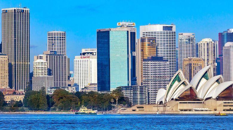"Sydney Harbour Marriott at Circular Quay Exterior. Images powered by <a href=""http://www.leonardo.com"" target=""_blank"" rel=""noopener"">Leonardo</a>."