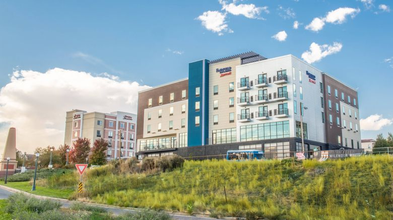 "Fairfield Inn  and  Suites Denver Downtown Exterior. Images powered by <a href=""http://www.leonardo.com"" target=""_blank"" rel=""noopener"">Leonardo</a>."