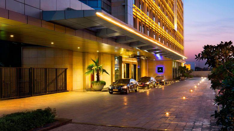 "JW Marriott Hotel New Delhi Aerocity Exterior. Images powered by <a href=""http://www.leonardo.com"" target=""_blank"" rel=""noopener"">Leonardo</a>."