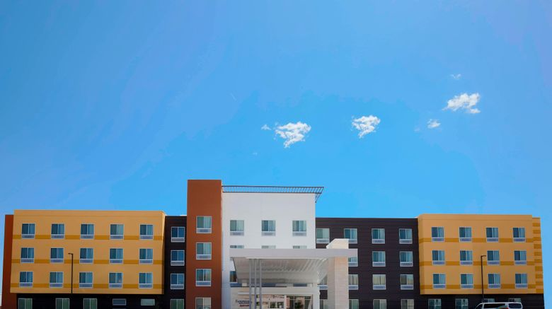 """Fairfield Inn  and  Suites El Paso Airport Exterior. Images powered by <a href=""""http://www.leonardo.com"""" target=""""_blank"""" rel=""""noopener"""">Leonardo</a>."""