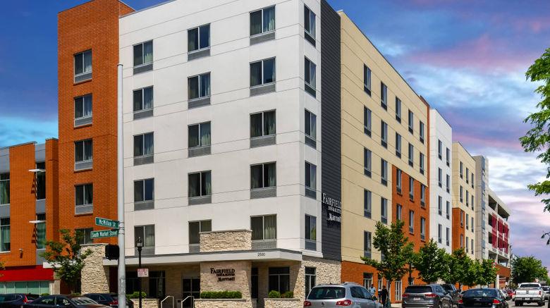 "Fairfield Inn  and  Suites Cincinnati Uptown Exterior. Images powered by <a href=""http://www.leonardo.com"" target=""_blank"" rel=""noopener"">Leonardo</a>."