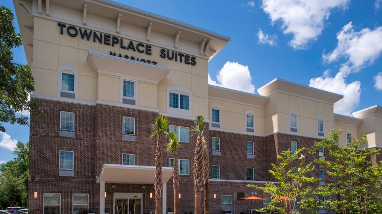 """TownePlace Suites Charleston Exterior. Images powered by <a href=""""http://www.leonardo.com"""" target=""""_blank"""" rel=""""noopener"""">Leonardo</a>."""