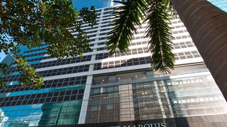 "JW Marriott Marquis Miami Exterior. Images powered by <a href=""http://www.leonardo.com"" target=""_blank"" rel=""noopener"">Leonardo</a>."