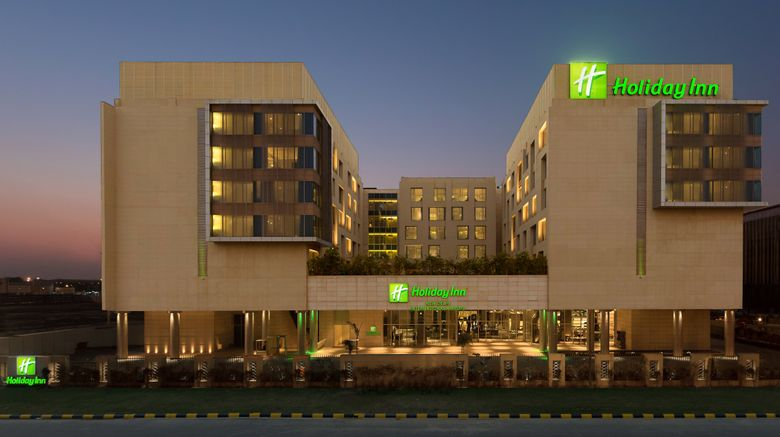 "Holiday Inn New Delhi Intl Airport Exterior. Images powered by <a href=""http://www.leonardo.com"" target=""_blank"" rel=""noopener"">Leonardo</a>."