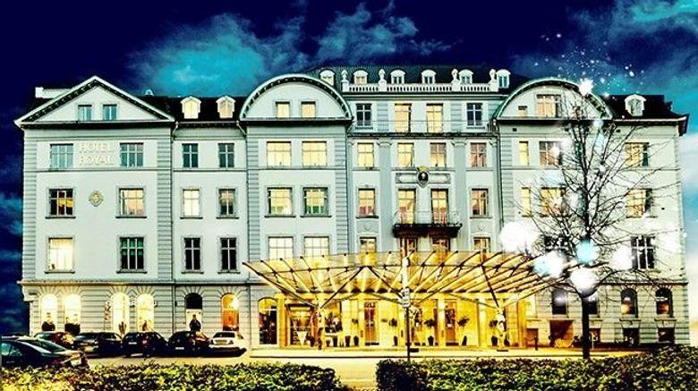 "Royal Hotel Exterior. Images powered by <a href=""http://www.leonardo.com"" target=""_blank"" rel=""noopener"">Leonardo</a>."