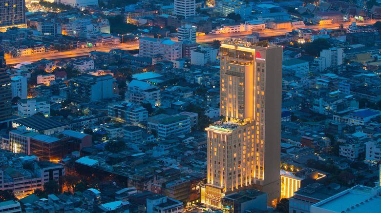 "Bangkok Marriott Hotel The Surawongse Exterior. Images powered by <a href=""http://www.leonardo.com"" target=""_blank"" rel=""noopener"">Leonardo</a>."