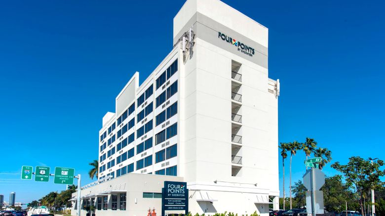 """Four Points by Sheraton Fort Lauderdale Exterior. Images powered by <a href=""""http://www.leonardo.com"""" target=""""_blank"""" rel=""""noopener"""">Leonardo</a>."""