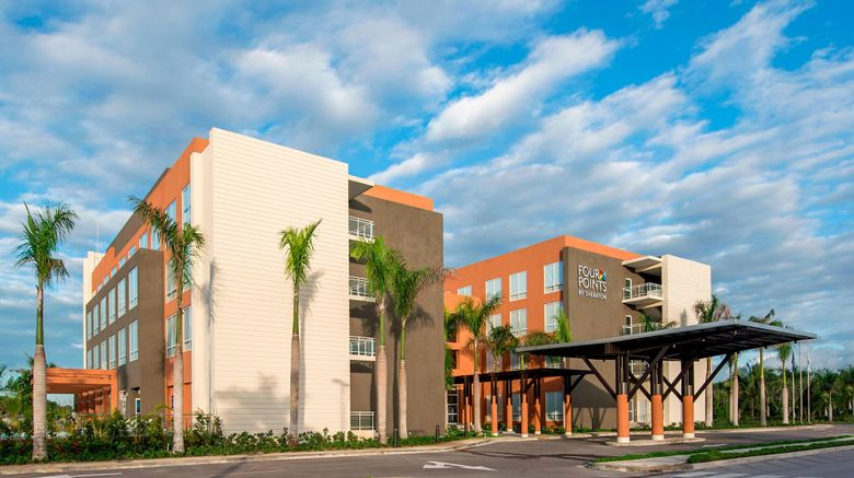 """Four Points by Sheraton Punta Cana Exterior. Images powered by <a href=""""http://www.leonardo.com"""" target=""""_blank"""" rel=""""noopener"""">Leonardo</a>."""