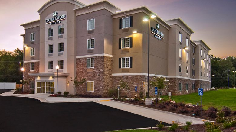 """Candlewood Suites Tupelo North Exterior. Images powered by <a href=""""http://www.leonardo.com"""" target=""""_blank"""" rel=""""noopener"""">Leonardo</a>."""