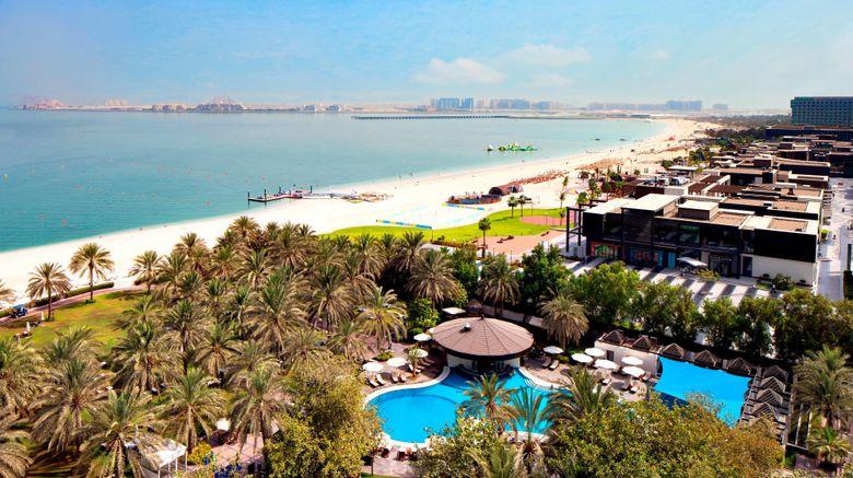 "Sheraton Jumeirah Beach Resort Exterior. Images powered by <a href=""http://www.leonardo.com"" target=""_blank"" rel=""noopener"">Leonardo</a>."