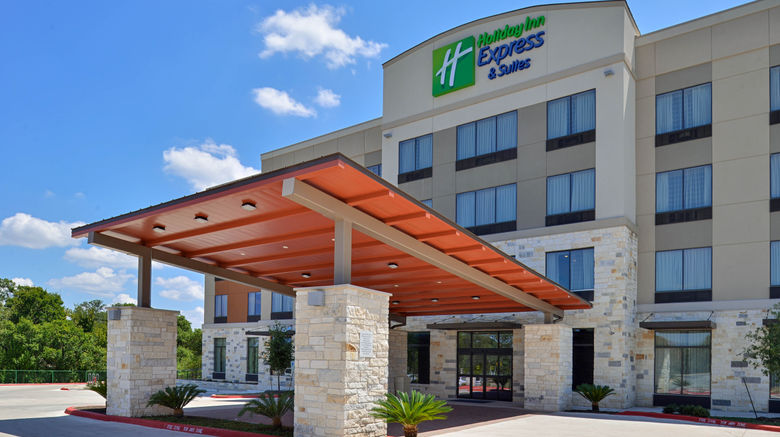 """Holiday Inn Express  and  Sts Austin South Exterior. Images powered by <a href=""""http://www.leonardo.com"""" target=""""_blank"""" rel=""""noopener"""">Leonardo</a>."""