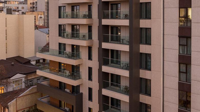 "Athina Suites Hotel Exterior. Images powered by <a href=""http://www.leonardo.com"" target=""_blank"" rel=""noopener"">Leonardo</a>."